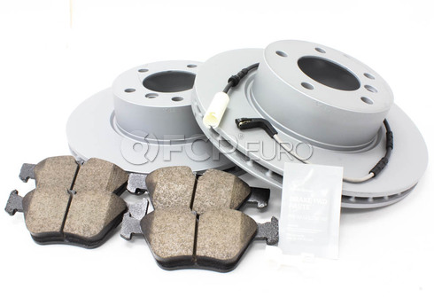 BMW Brake Kit Front (E90 E91 E92) - Zimmermann/Akebono 34116854998KTF6