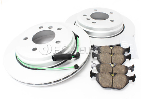 BMW Brake Kit Rear (E46) - Meyle/Akebono 34216864044KTR1