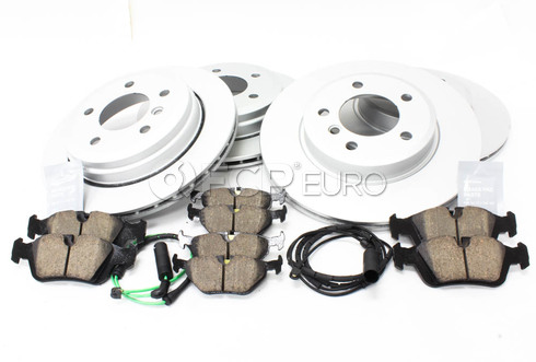 BMW Brake Kit Front and Rear (E46) - Meyle/Akebono 34116864058KT1