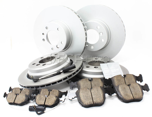 BMW Brake Kit Front and Rear (E39 530i 540i) - Meyle/Akebono 34116767059KTFR7