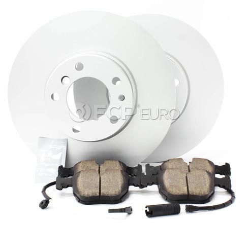 BMW Brake Kit Front (E39 530i 540i) - Meyle/Akebono 34116767059KT2