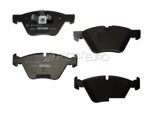 BMW Brake Pad Set Front (128i) - Textar 2409601