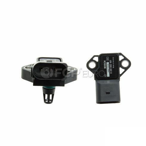 VW Audi Turbocharger Boost Sensor (A8 Quattro Beetle Touareg) - Bosch 0281002401