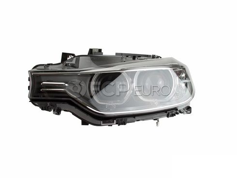 BMW Headlight Assembly Left (320i 328d 335i) - ZKW 63117338705
