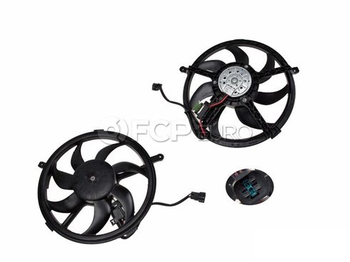 Mini Cooper Engine Cooling Fan Assembly - Genuine Mini 17427535100
