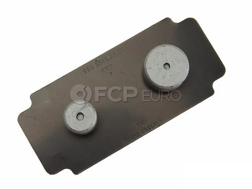 Porsche Brake Pad Set Shim (911) - Genuine Porsche 99635108901