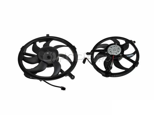 Mini Cooper Cooling Fan Assembly - Behr 351042741