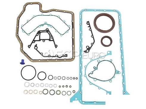 BMW Engine Crankcase Cover Gasket Set - Genuine BMW 11119070240