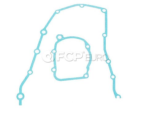 BMW Engine Timing Cover Gasket Lower (318i 318is) - Genuine BMW 11141721802