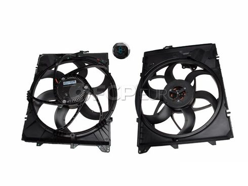 BMW Engine Cooling Fan Assembly - Genuine BMW 17117590699