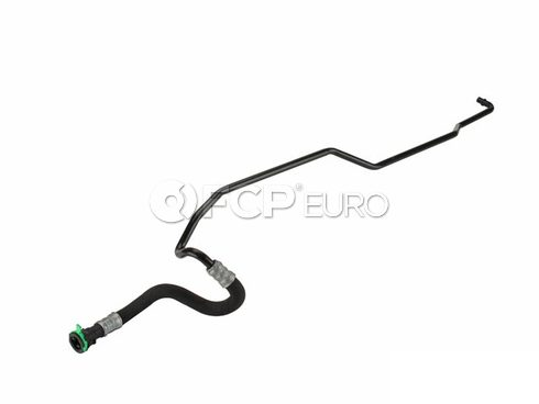 BMW Auto Trans Oil Cooler Hose (330i 325i 325xi 330xi Z4) - Genuine BMW 17227577635