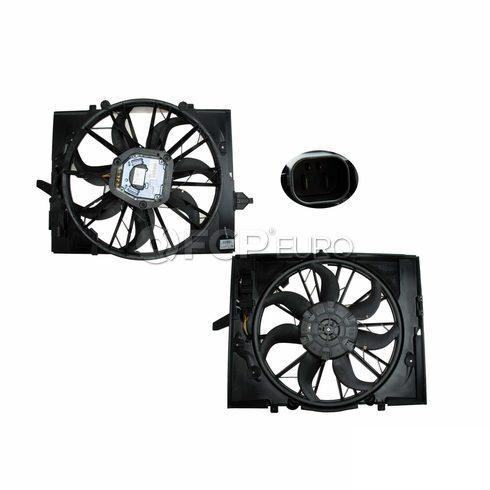 BMW Engine Cooling Fan Assembly (745i 745Li) - Genuine BMW 17427524881