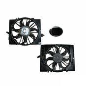 BMW Engine Cooling Fan Assembly - Genuine BMW 17427524881