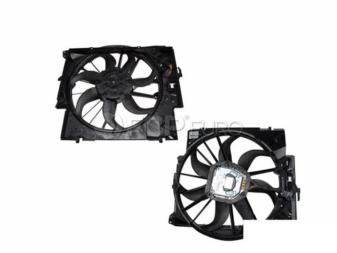 BMW Engine Cooling Fan Assembly - Genuine BMW 17427545366