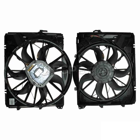 BMW Engine Cooling Fan Assembly - Genuine BMW 17427562080