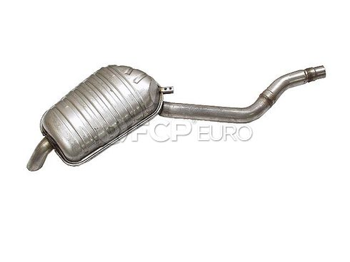 BMW Exhaust Muffler - Genuine BMW 18121742961