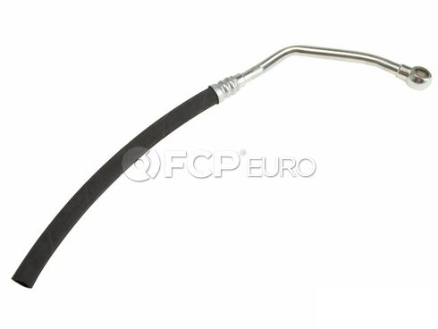 BMW Power Steering Reservoir Line Hose (740i) - Genuine BMW 32411141858