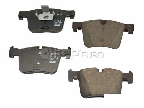 BMW Brake Pad Set - Genuine BMW 34106856191