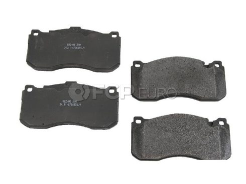 BMW Brake Pad Set Front (E82 E88) - Genuine BMW 34116786044