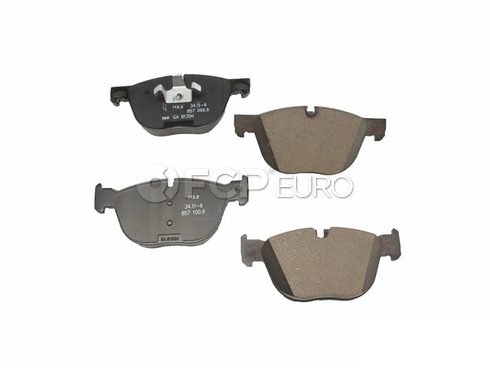 BMW Brake Pad Set - Genuine BMW 34116857096