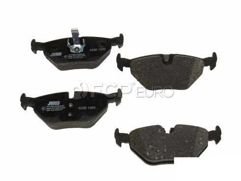 BMW Brake Pad Set (E36 Z3) - Genuine BMW 34216761238