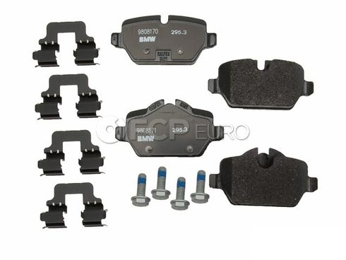 MINI Brake Pad Set Rear - Genuine BMW 34219808172
