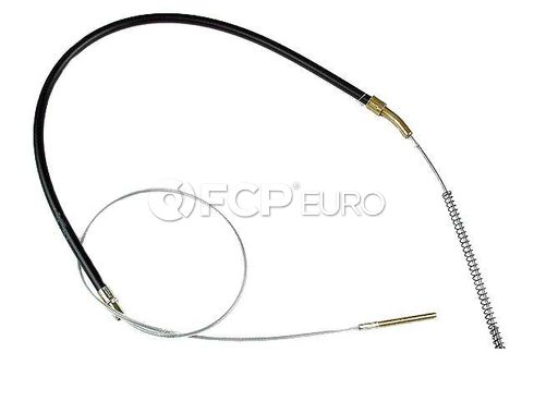 BMW Hand Brake Bowden Cable (320i) - Genuine BMW 34411114215