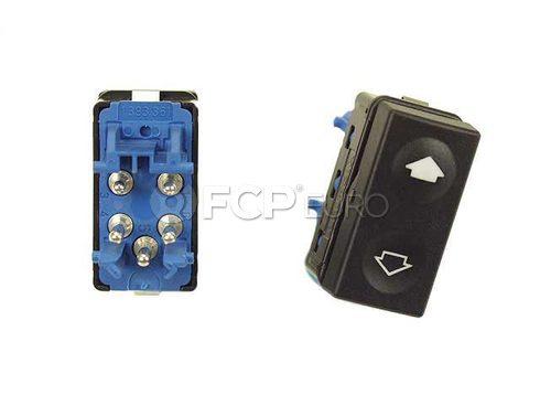 BMW Switch Electr.Door Window Lifter Rear (Blau) - Genuine BMW 61311393361