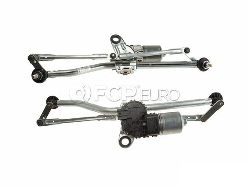 BMW Windshield Wiper Linkage and Motor Assembly (E46) Genuine BMW - 61617071693