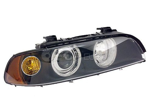 BMW Halogen Headlight Assembly Right (E39) - Genuine BMW 63126900200