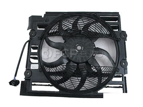 BMW Auxiliary Fan Assembly - Genuine BMW 64546921395