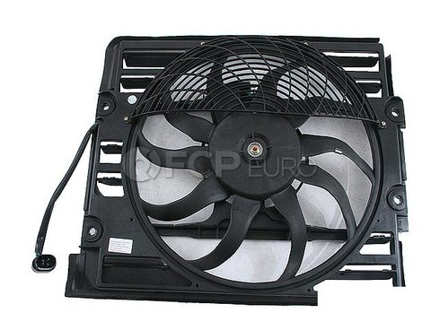 BMW A/C Condenser Fan Assembly - Genuine BMW 64548380774