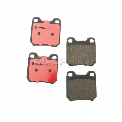Saab Disc Brake Pad Rear (9-5) - Brembo 22678482