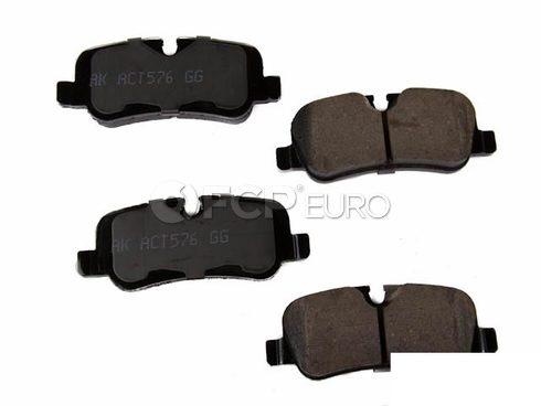 Land Rover Disc Brake Pad Rear (Range Rover Range Rover Sport LR3 LR4) - Akebono EUR1099