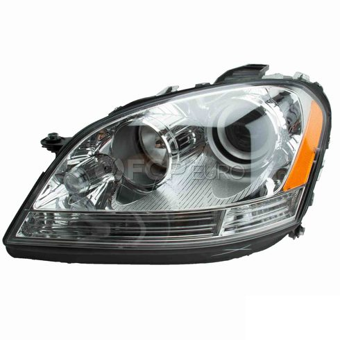 Mercedes Fog Light Assembly Left (ML320 ML350 ML500 ML550) - Hella 1648204561