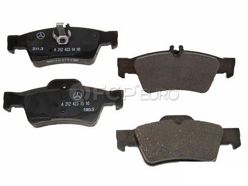 Mercedes Brake Pad Set (E550) - Genuine Mercedes 0074206820