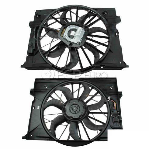 Mercedes Cooling Fan Assembly - Genuine Mercedes 2115001693