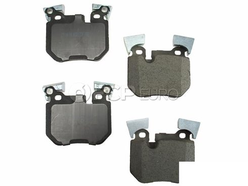 BMW Brake Pad Set Rear (135i) - Meyle D81372SC