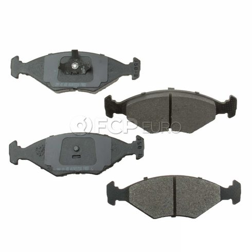 VW Brake Pad Set (Fox) - Meyle Semi Metallic D8350SM