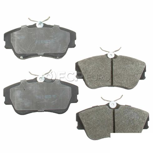 VW Brake Pad Set - Meyle Semi Metallic D8742SM