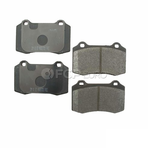 Jaguar Brake Pad Set (S-Type XJR) - Meyle D9592SM