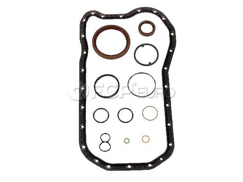 VW Engine Crankcase Cover Gasket Set - Genuine VW Audi 021198011A