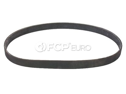 VW Accessory Drive Belt Alternator and Water Pump (Jetta Golf Passat) - Genuine VW Audi 037903137E