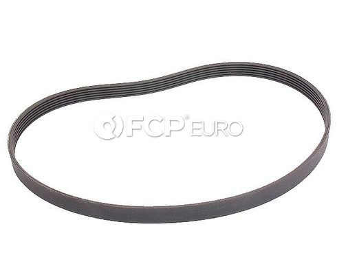VW Accessory Drive Belt Alternator and Water Pump (Cabrio Golf Jetta Passat) - Genuine VW Audi 037903137H