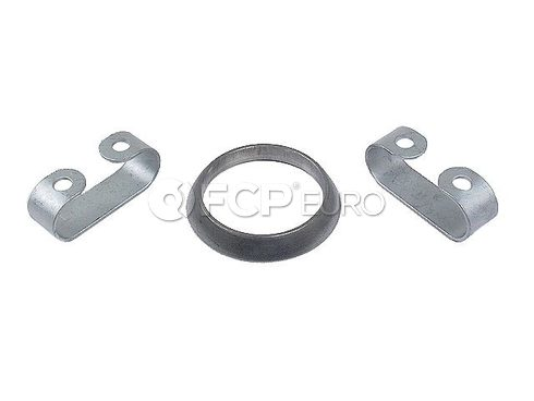 VW Exhaust Pipe to Manifold Gasket (Golf Jetta Scirocco Cabriolet) - Genuine VW Audi 161298115