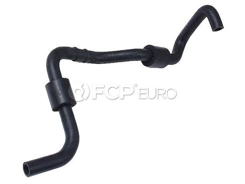 VW Engine Coolant Recovery Tank Hose Lower (Beetle) - Genuine VW Audi 1C0121109D