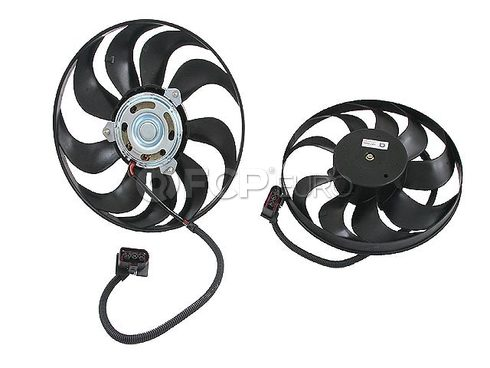 Audi VW Engine Cooling Fan Motor (TT TTQ Golf Jetta) - Genuine VW Audi 1J0959455R