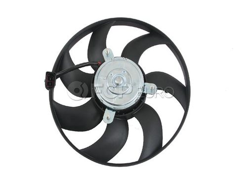VW Engine Cooling Fan Motor Right (Jetta GTI Beetle Passat) - Genuine VW Audi 1K0959455ES
