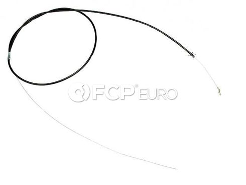 Audi Hood Release Cable (Coupe Quattro) - Genuine VW Audi 443823531A