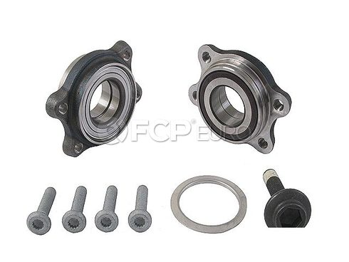 Audi Wheel Bearing Kit Front - Genuine VW Audi 4E0498625BOE